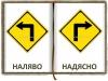 ляво дясно логопедични карти
