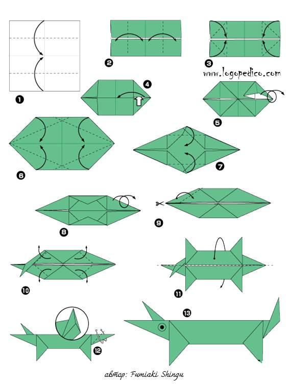 Оригами своими руками схемы для детей