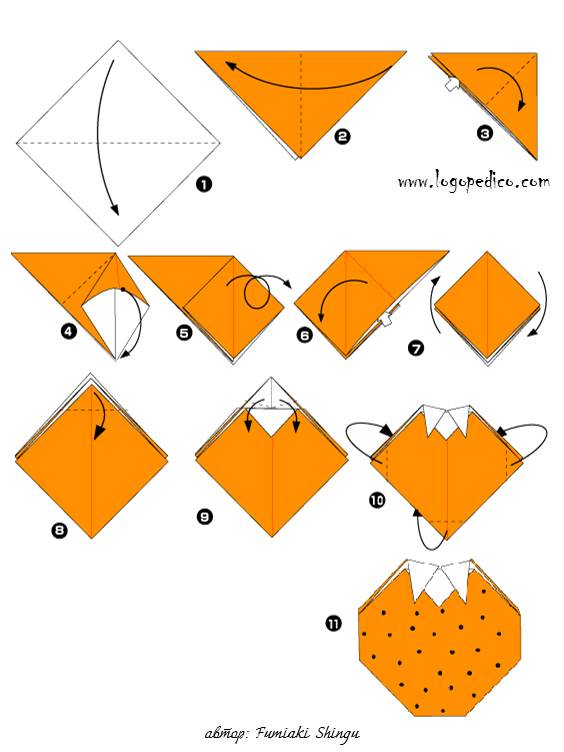 Как сделать из бумаги для детей 672