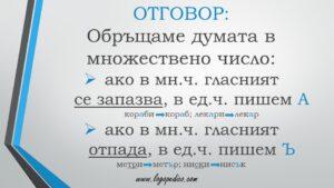 Логопедико - pregovor bulgarski ezik 3 4 klas 7 - образователни помагала, занимания и материали
